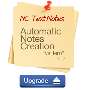 NoteCaddy Text.Notes Upgrade